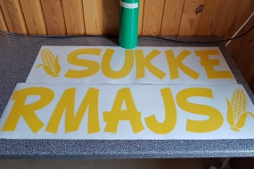 Sukkermajs Sticker sliced