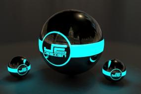 Je ball blue