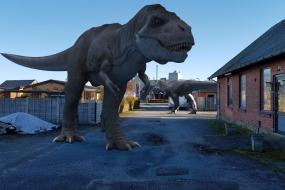 T-Rex visit