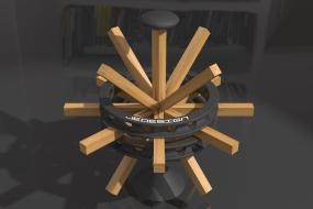 Wood-iron tool