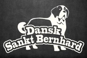 Sankt Bernhard på læder